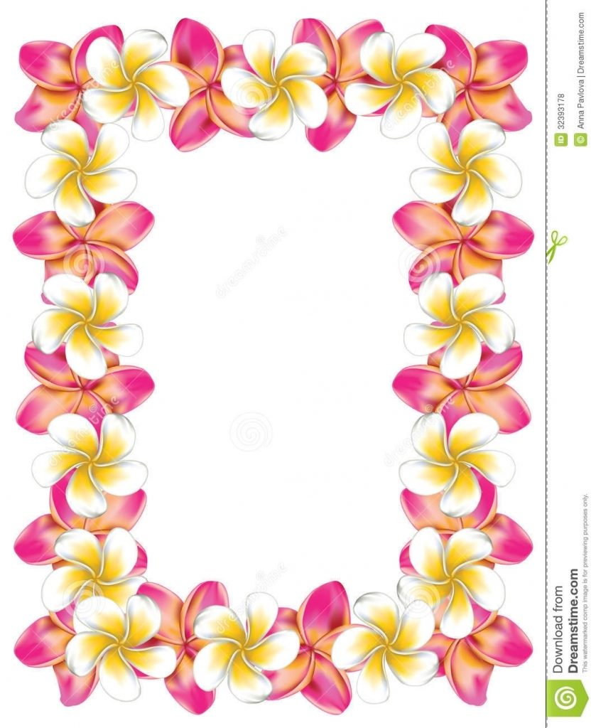Lei border clipart clipart black and white download Nobby Hawaiian Photo Frames Best Lei Clip Art Border Hawaii Cliparts ... clipart black and white download