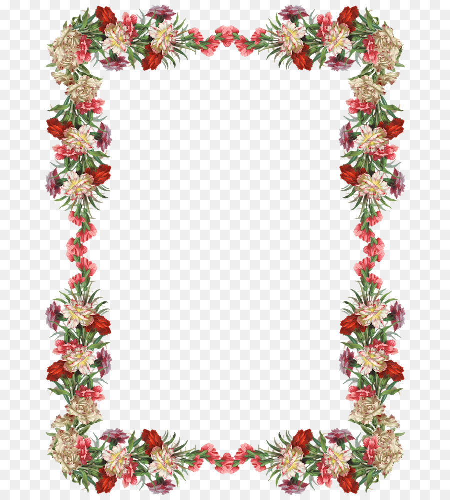 Lei border clipart image library library Christmas Picture Frame clipart - Flower, Leaf, Lei, transparent ... image library library