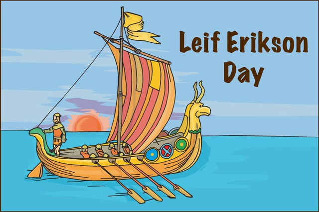 Leif erikson day clipart clip free library Leif Erikson Day Boat Clipart clip free library