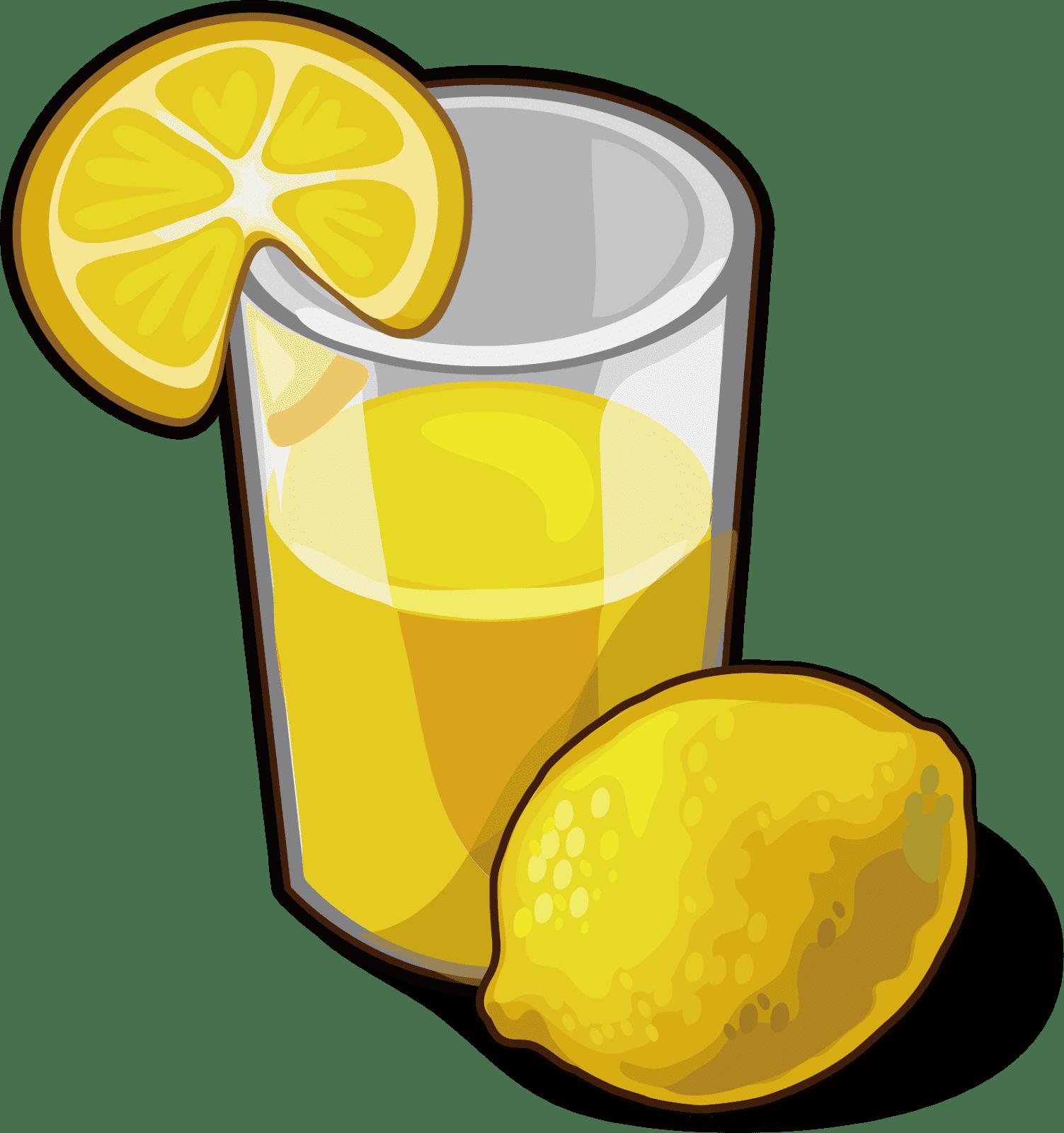 Lemon juice clipart image black and white library My Webpage image black and white library
