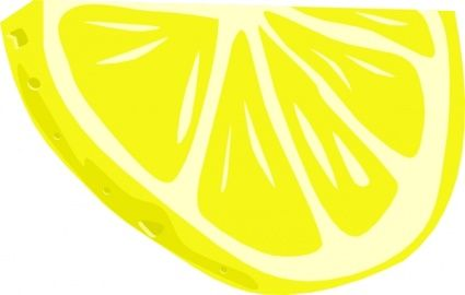 Lemon wedge clipart graphic transparent stock lemon half slice clipart | Lemon in 2019 | Clip art, Lemon slice ... graphic transparent stock