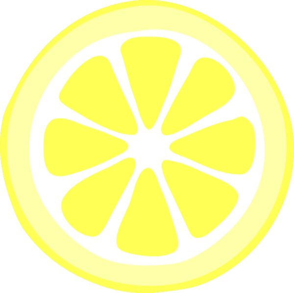 Lemon wedge clipart clipart library Lemon Slice Clip Art & Look At Clip Art Images - ClipartLook clipart library