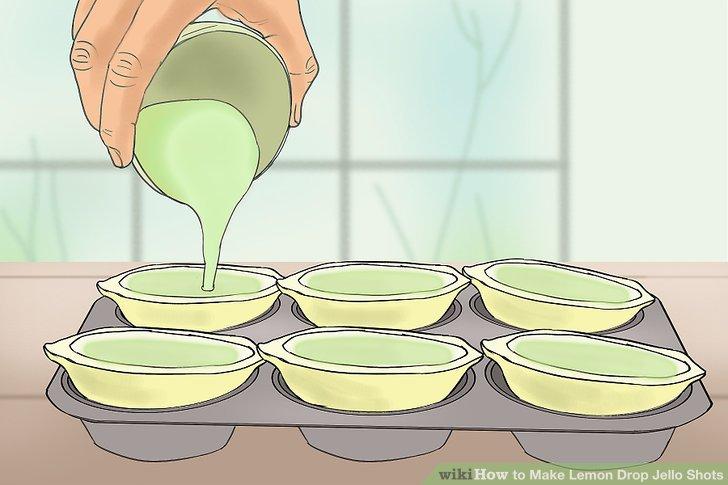 Lemondrop shot clipart clip art transparent download How to Make Lemon Drop Jello Shots: 11 Steps (with Pictures) clip art transparent download