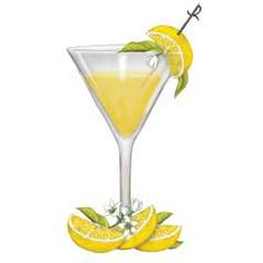 Lemondrop shot clipart image freeuse stock 210 Best Cocktail Recipes and Illustrations images in 2018 ... image freeuse stock