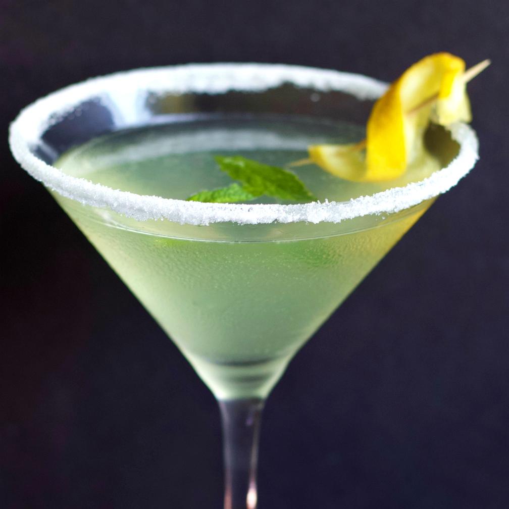 Lemondrop shot clipart clip transparent stock Lemon Drop Martini Recipe with Limoncello | Homemade Food Junkie clip transparent stock
