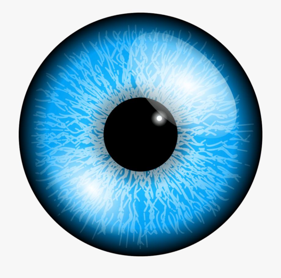 Lens eye clipart jpg black and white download Blue Eyes Clipart Transparent - Eye Lens For Picsart , Transparent ... jpg black and white download