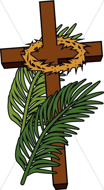 Lent cross with crown of thorns clipart clip art black and white Calvary Cross | Easter and Lent | Cross clipart, Calvary cross ... clip art black and white