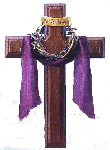 Lent cross with crown of thorns clipart banner transparent library Cross with crown of thorns | tattoo ideas | Easter cross, Easter ... banner transparent library