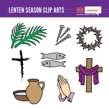 Lenten season clipart image free Lenten Season Clip Art Set | Clipart Artists on TPT | Lenten season ... image free