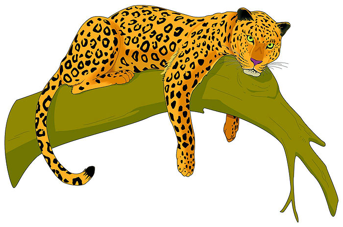 Leopard clipart free graphic freeuse stock Free Leopard Cliparts, Download Free Clip Art, Free Clip Art on ... graphic freeuse stock