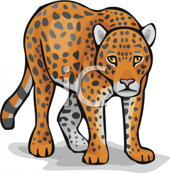 Leopard clipart free clip black and white library Leopard Clipart | Clipart Panda - Free Clipart Images clip black and white library