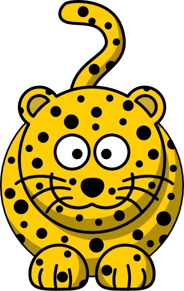 Leopard clipart free jpg free download Leopard clip art Free vector in Open office drawing svg ( .svg ... jpg free download