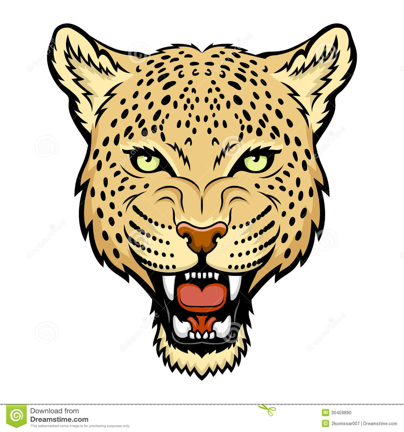 Leopard face clipart graphic library stock Leopard Clipart Pictures | Free download best Leopard Clipart ... graphic library stock