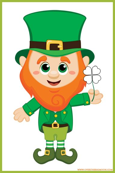 Leprechaun clipart for kids png royalty free stock St. Patrick\'s Day Kids Game | Printables | St patricks day crafts ... png royalty free stock