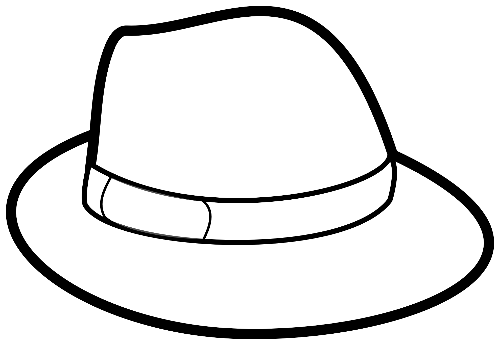 Leprechaun clipart black and white baseball vector royalty free library Cowboy Hat Clipart Black And White | Clipart Panda - Free Clipart Images vector royalty free library
