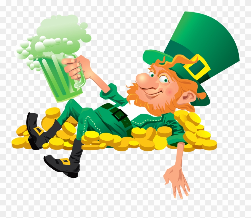 Leprechaun clipart png clipart freeuse library Handprint Clipart Leprechaun - Leprechaun Png Transparent Png (#9623 ... clipart freeuse library