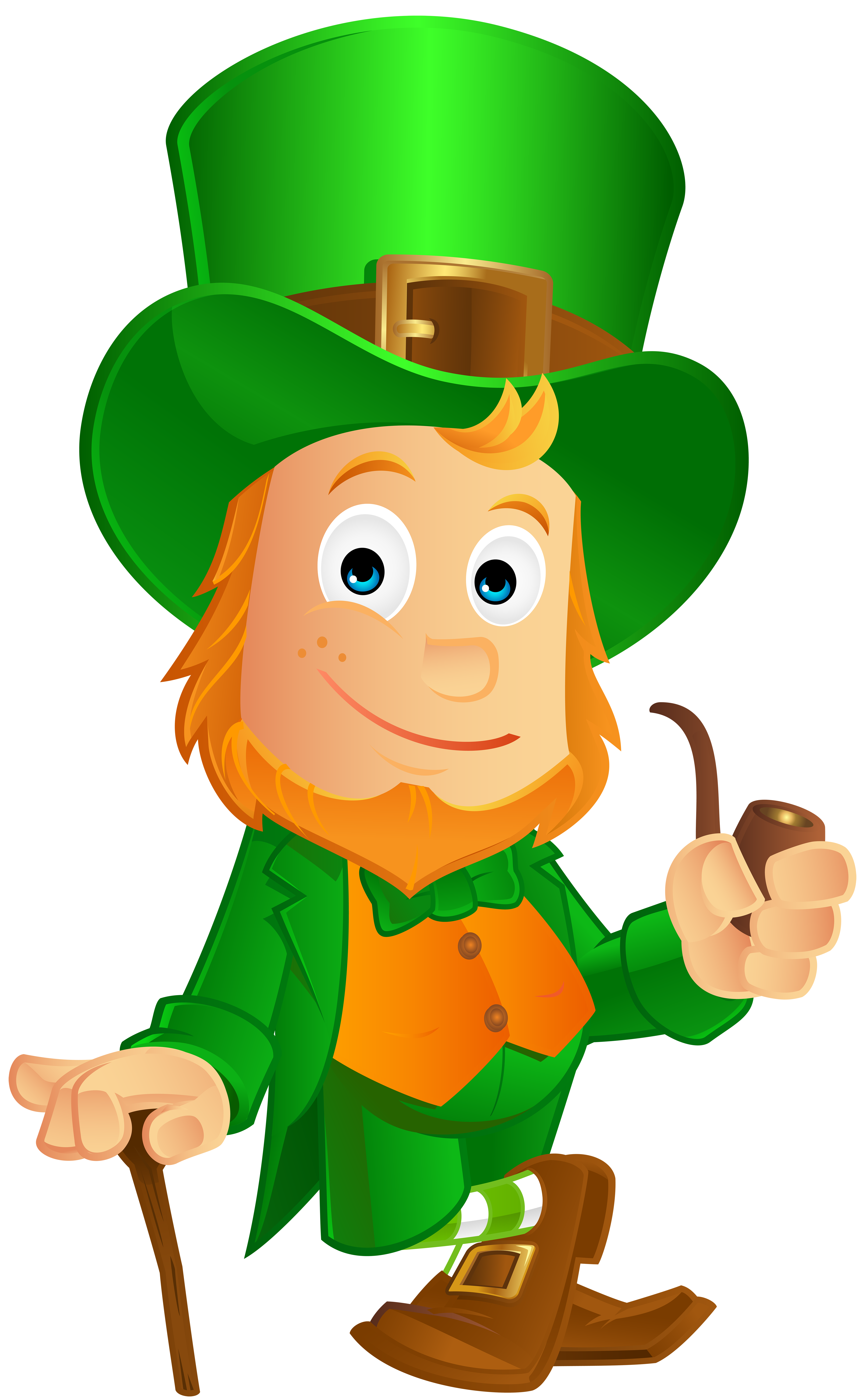 Leprechaun clipart png image library stock St Patrick-s Day Leprechaun Clip Art Image | Gallery Yopriceville ... image library stock
