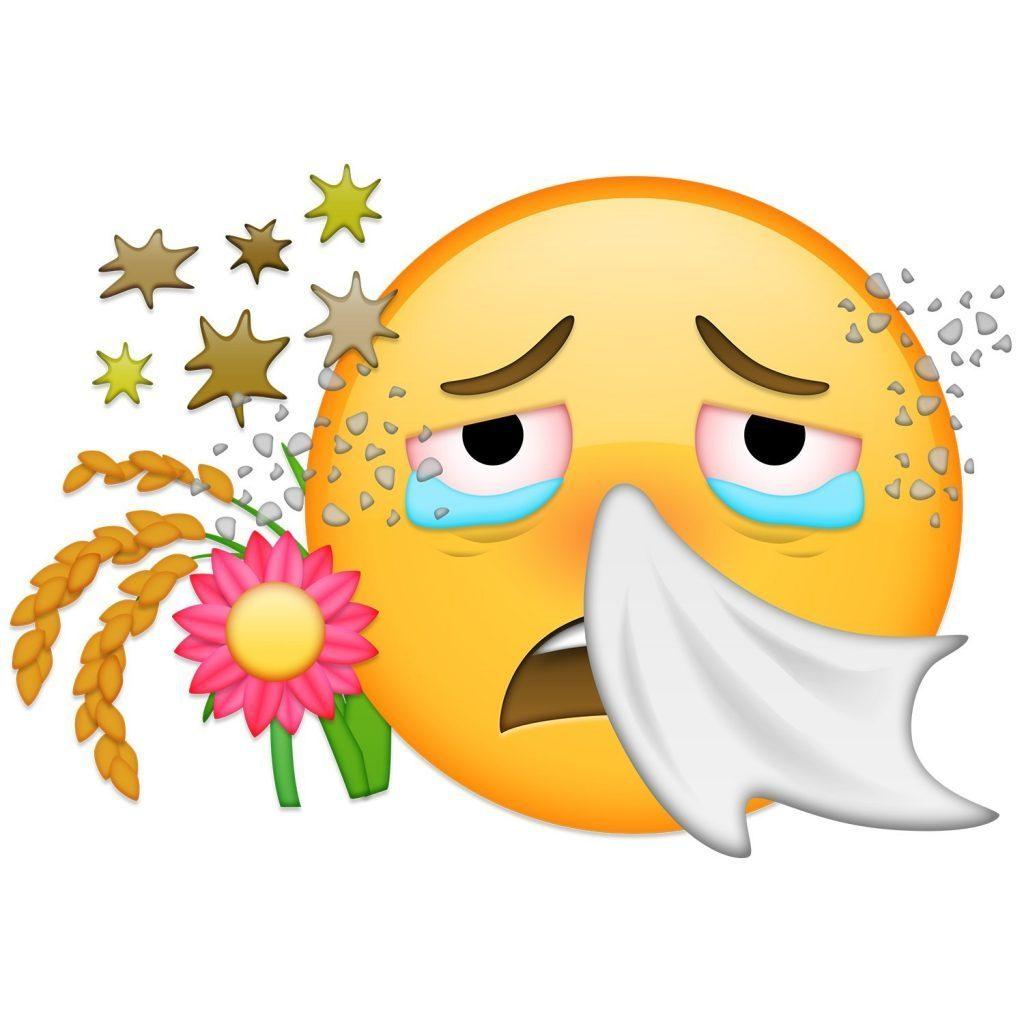 Les yeux qui piquent clipart vector royalty free library Les allergies saisonnières | Bibouzi vector royalty free library
