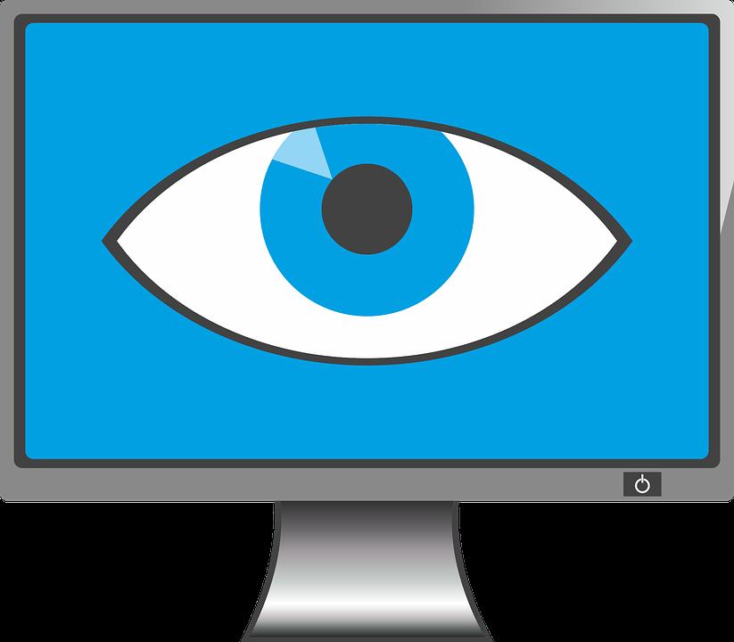 Les yeux qui piquent clipart graphic library Lumière bleue télévision : quel impact sur nos yeux ? graphic library
