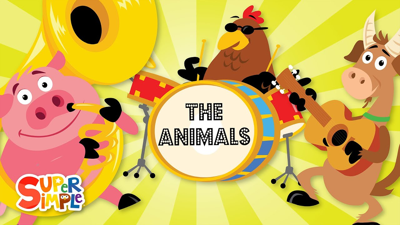 Let all the world sing clipart picture free download The Animals On The Farm | Super Simple Songs picture free download