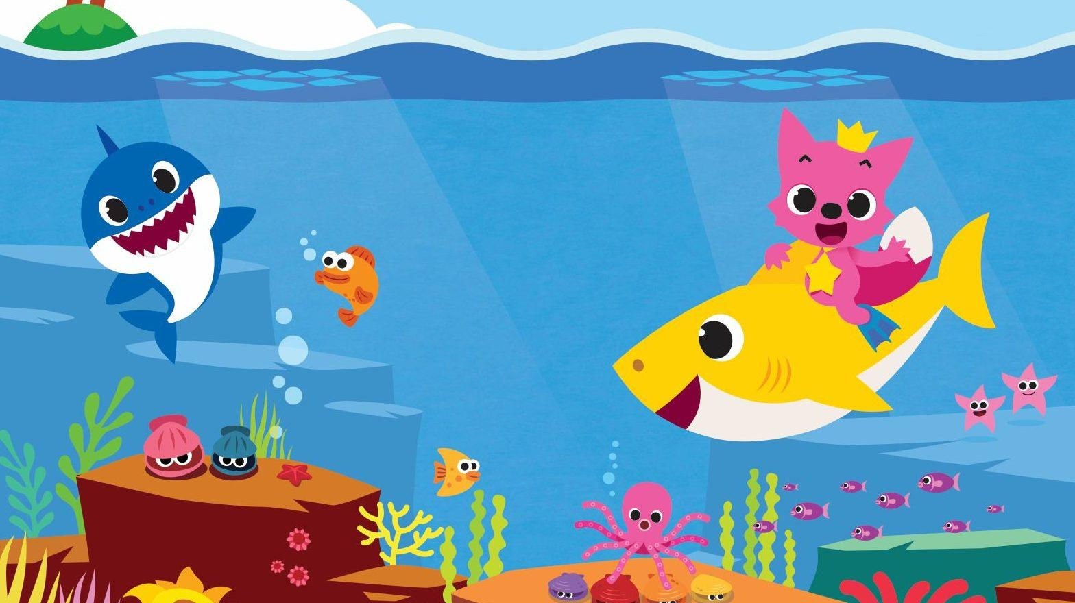 Let all the world sing clipart vector freeuse download The story behind the astonishingly viral Baby Shark YouTube video ... vector freeuse download