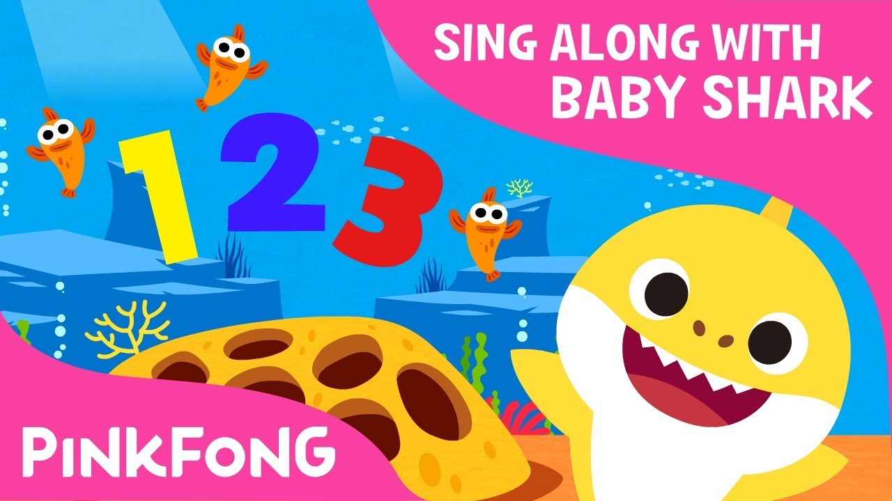 Let all the world sing clipart vector free download Shark 123 | Baby Shark Number Song | Sing along with baby shark | Pinkfong  Songs for Children vector free download