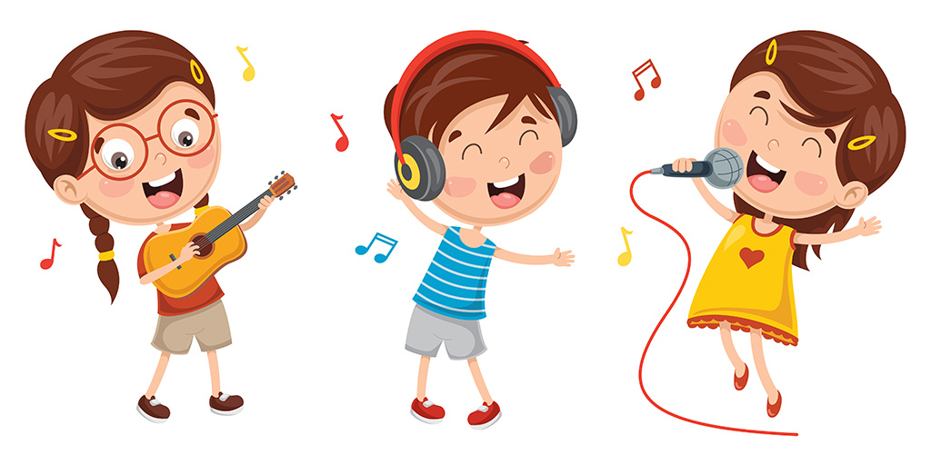 Let all the world sing clipart clip royalty free Children\'s Songs - Kids Environment Kids Health - National Institute ... clip royalty free