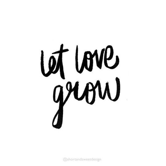 Let love grow clipart clip royalty free library let love grow #love #quote | QUOTE ME | Love quotes, Word design, Quotes clip royalty free library