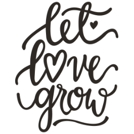 Let love grow clipart png royalty free library Spring Wedding Designs png royalty free library