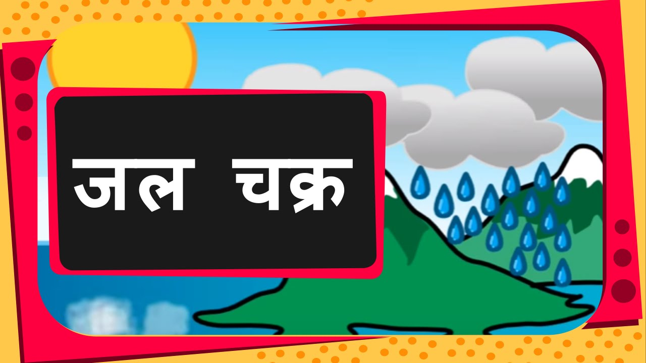 Let my teaching fall like rain clipart clipart library download Science - What Is Water Cycle and how rain occurs - Hindi clipart library download