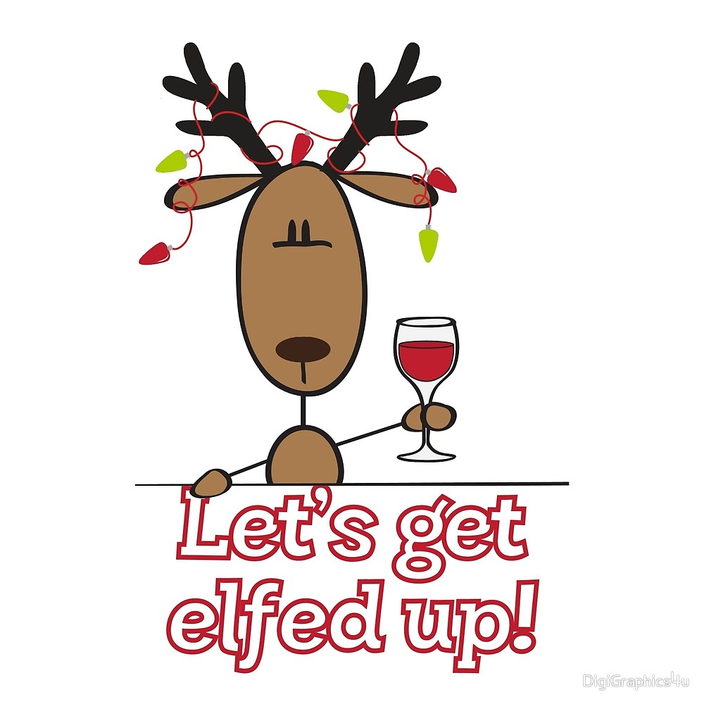 Let s get elfed up clipart image transparent library Let\'s Get All Elfed Up!\