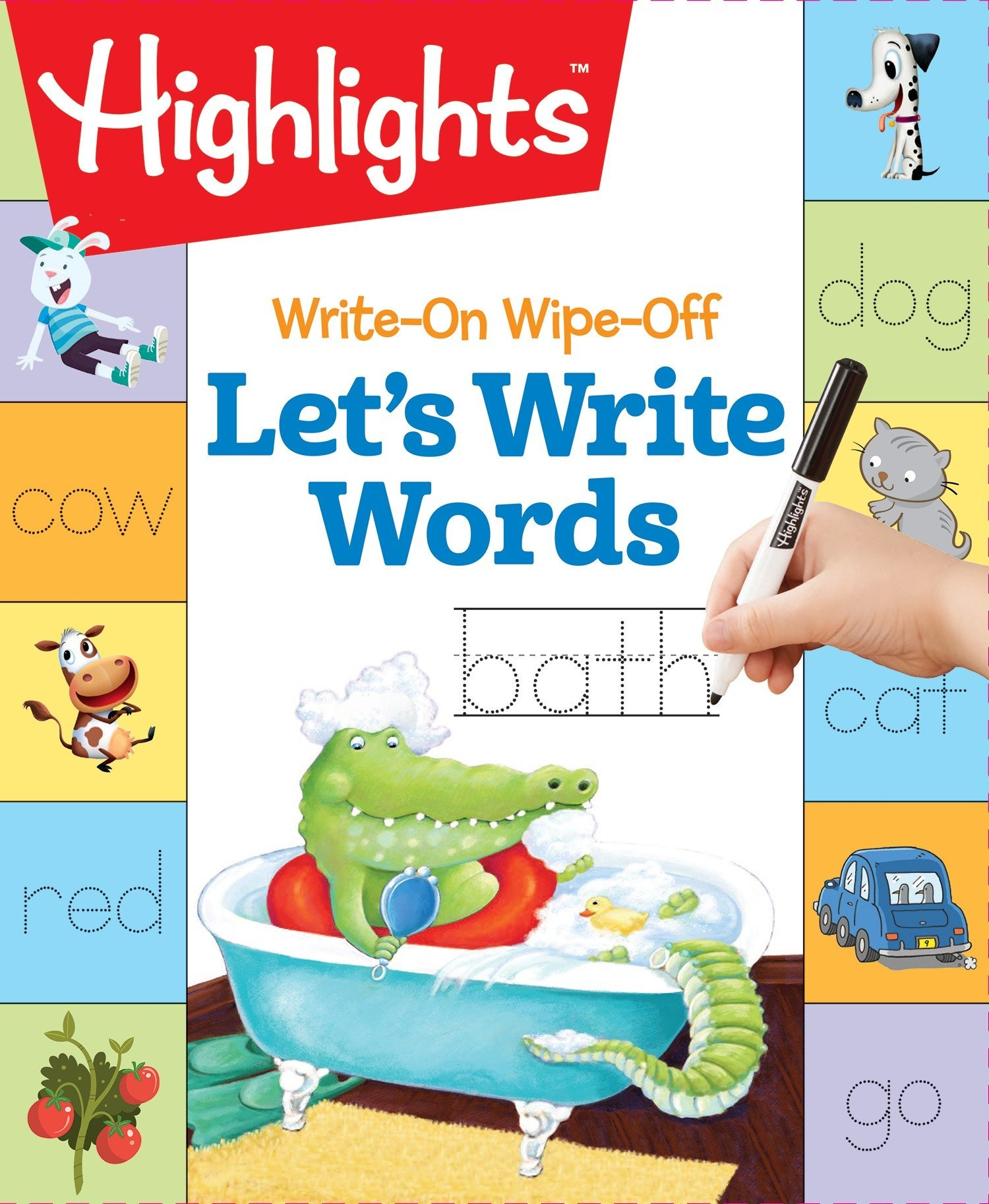 Let s use kind words to each other clipart jpg transparent download Write-On Wipe-Off Let\'s Write Words (HighlightsTM Write-On Wipe-Off ... jpg transparent download