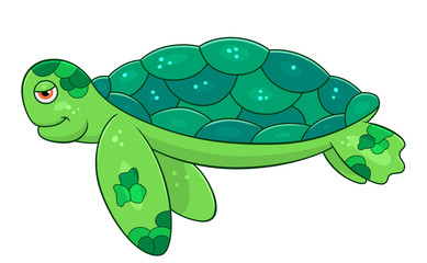 Let the sea set you free tutrtle clipart png freeuse library Cartoon Sea Turtle - ClipartAndScrap png freeuse library