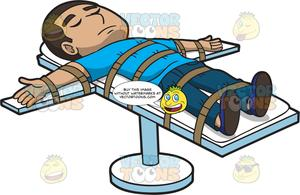 Lethal injection clipart graphic library A Man Getting The Death Penalty By Lethal Injection graphic library