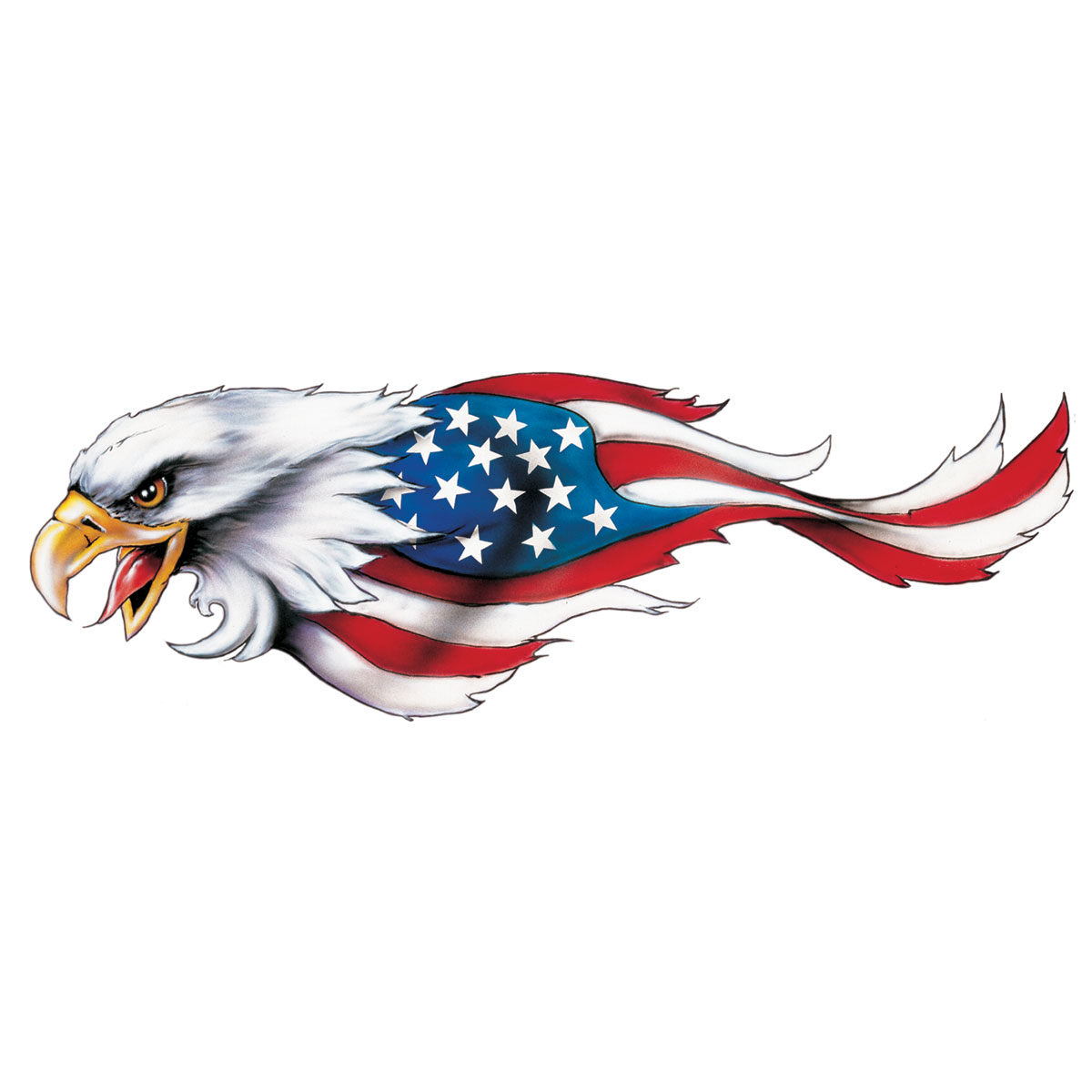 Lethal threat clipart clipart black and white download Lethal Threat USA Eagle Decal - Left - LT00403 clipart black and white download