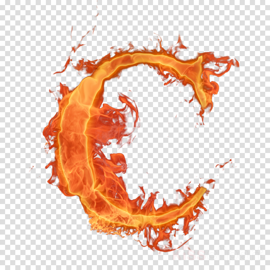 Letra c em clipart banner download Fire Cartoon clipart - Letter, Fire, Alphabet, transparent clip art banner download