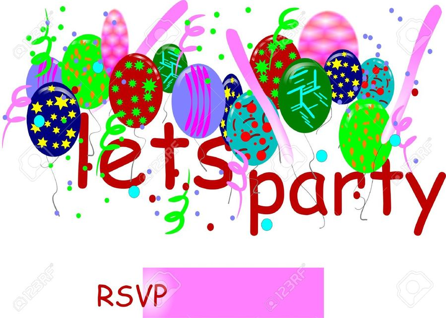 Lets party clipart vector black and white download Download let\'s party clipart Wedding invitation RSVP Clip ... vector black and white download