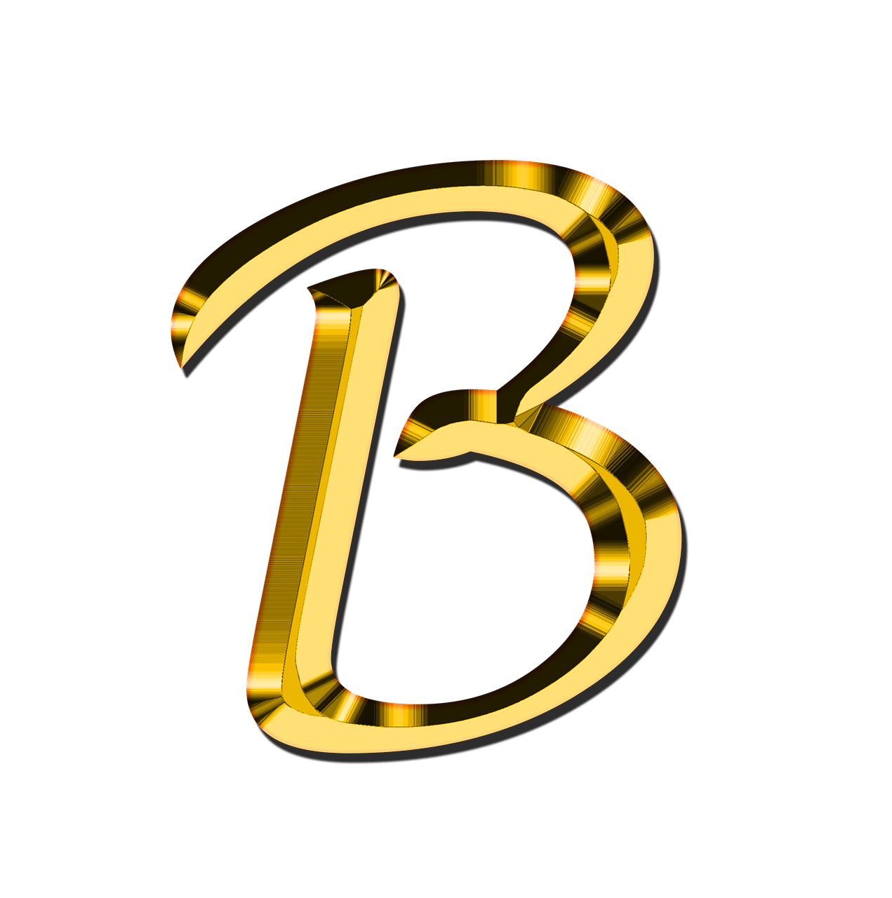 Letter b clipart clip art free stock Capital Letter B transparent PNG - StickPNG clip art free stock