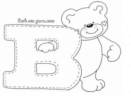 Letter b clipart bear png transparent stock Letter b clipart bear - ClipartFest png transparent stock