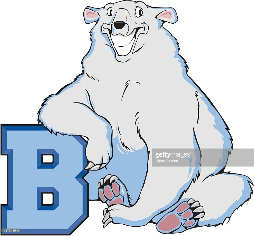 Letter b clipart bear image transparent Polar Bear With The Letter B Vector Art | Getty Images image transparent