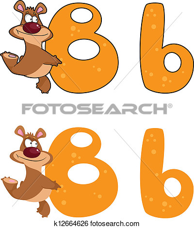 Letter b clipart bear picture royalty free library Letter b clipart bear - ClipartFest picture royalty free library