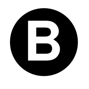 Letter b clipart black and white png library stock White Letter B Clip Art at Clker.com - vector clip art online ... png library stock