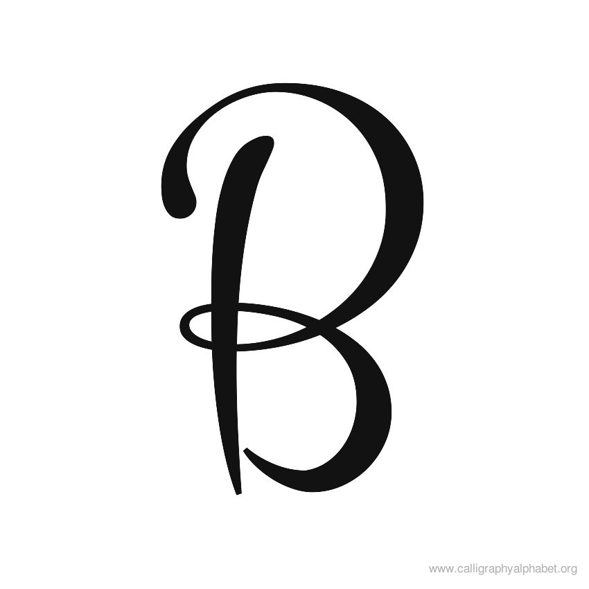 Letter b clipart free caligraphy download Letter b clipart free calligraphy - ClipartFest download