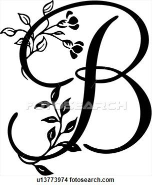 Letter b clipart free caligraphy clipart transparent stock 17 Best images about Awesome Alphabeths on Pinterest | Clip art ... clipart transparent stock