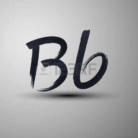 Letter b clipart free calligraphy jpg stock 402 B Calligraphy Stock Vector Illustration And Royalty Free B ... jpg stock