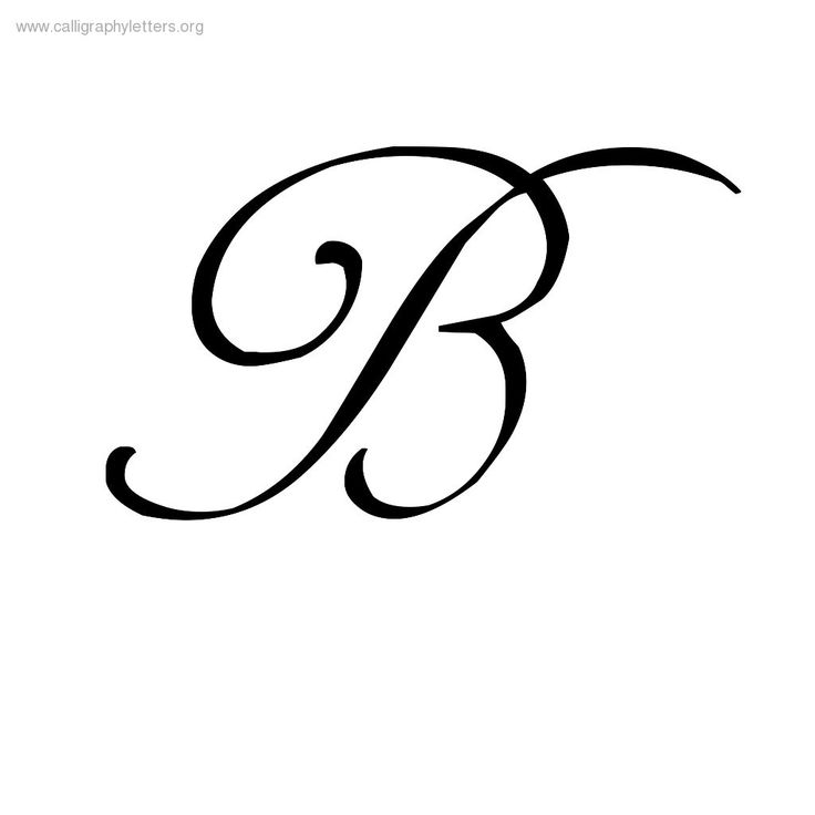 Letter b clipart free calligraphy clipart transparent download Calligraphy Letter B - ClipArt Best clipart transparent download