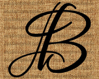 Letter b clipart free calligraphy png freeuse library Calligraphy letter b – Etsy png freeuse library