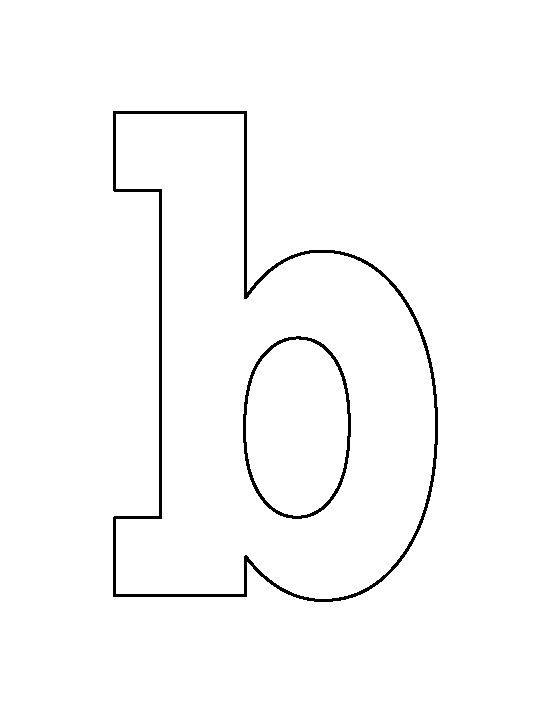 Letter b clipart outline graphic Letter b clipart outline - ClipartFest graphic
