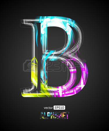 Letter b clipart outline image library stock 18,092 Outline Letters Stock Vector Illustration And Royalty Free ... image library stock