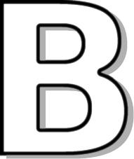 Letter b clipart outline clipart transparent download B + - ClipArt Best clipart transparent download